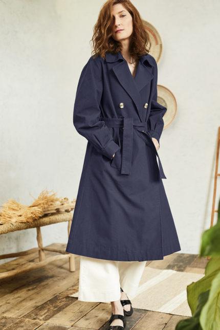 Thought kabát callie mac z bio bavlny