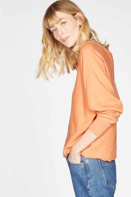 Thought svetřík polly dolman oranžový