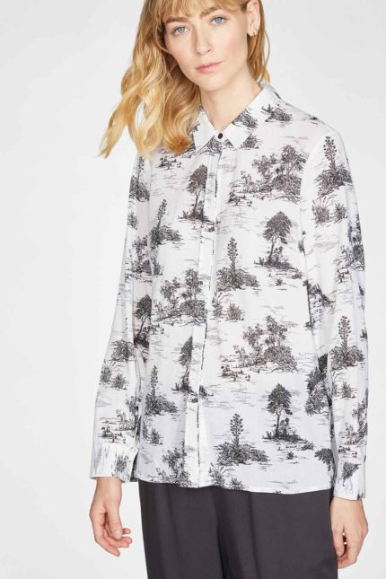 Thought košile la vineta z bio bavlny