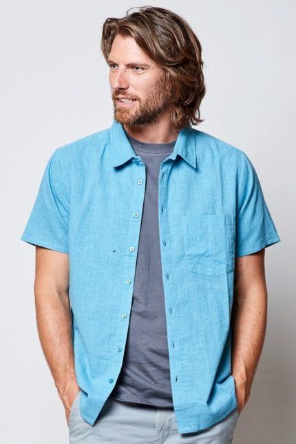 Nomads pánská košile s krátkým rukávem wave