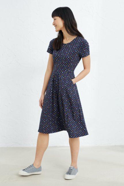 Seasalt Cornwall Šaty april polka dot