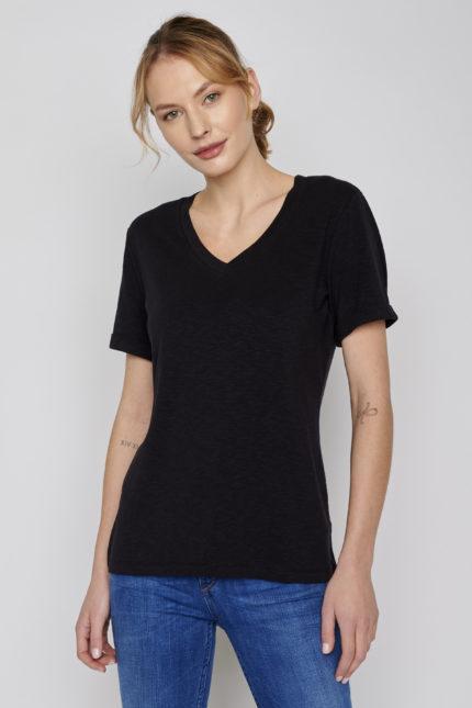 Greenbomb dámské tričko petite černé