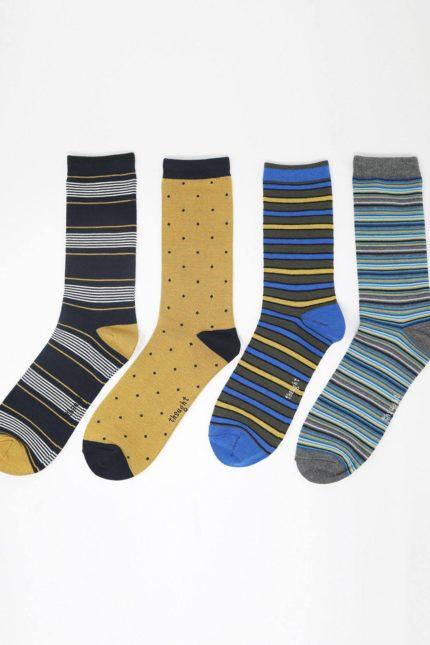 Thought dárkové balení pánských ponožek eric stripe