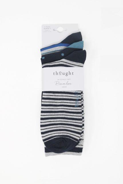 Thought dárkové trojbalené pánských ponožek harrison