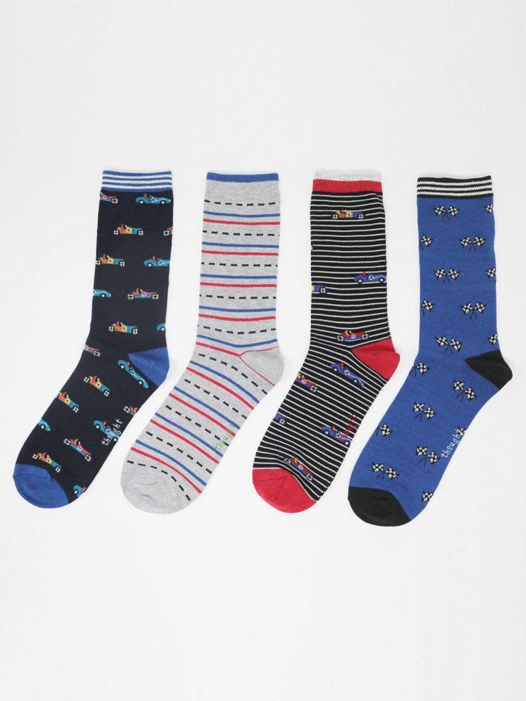 Thought dárkové balení pánských ponožek maxie racing