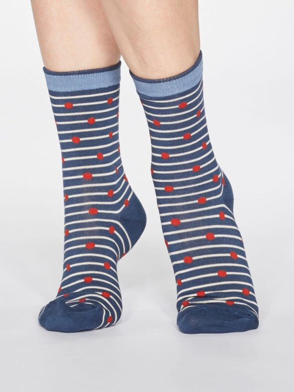 Thought dárkové dvojbalení dámských ponožek juliet cherry