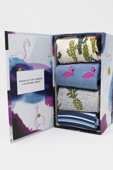 Thought dámské dárkové balení ponožek nettie summer