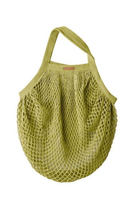 Living Crafts síťovka grenoble 1 zelelná z bio bavlny