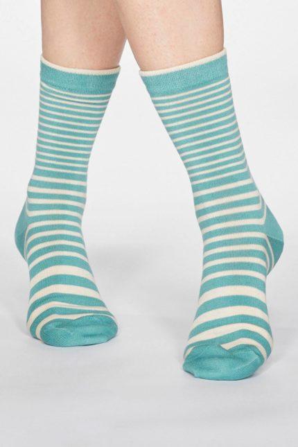 Thought dámské bambusové ponožky jacinda zelené