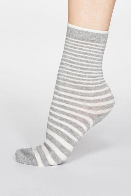 Thought dámské bambusové ponožky jacinda šedé