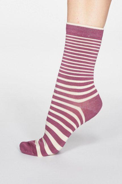 Thought dámské bambusové ponožky jacinda růžové