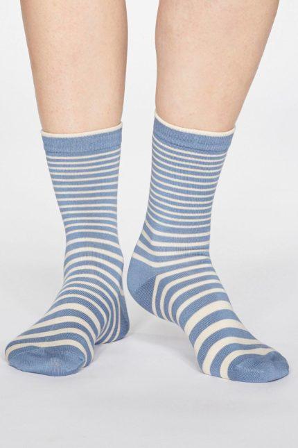 Thought dámské bambusové ponožky jacinda modré