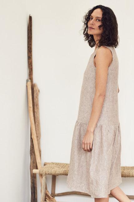 Thought konopné šaty isobel