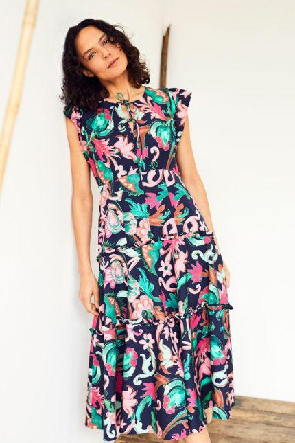 Thought tencelové šaty estelle