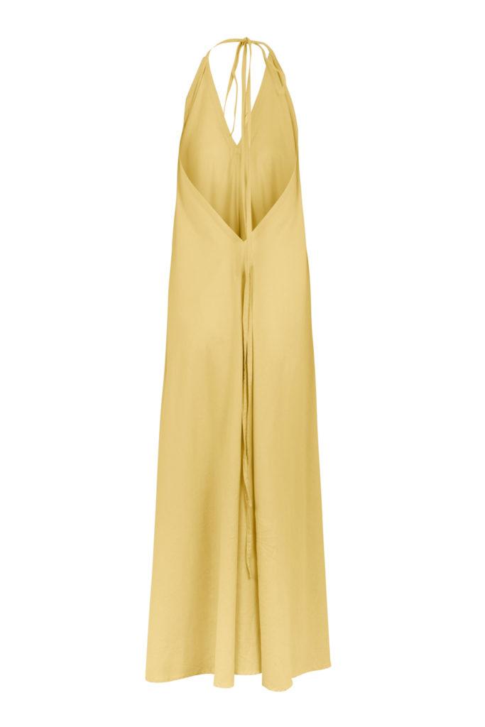 Suite13 maxi šaty daphne super lemon se lnem