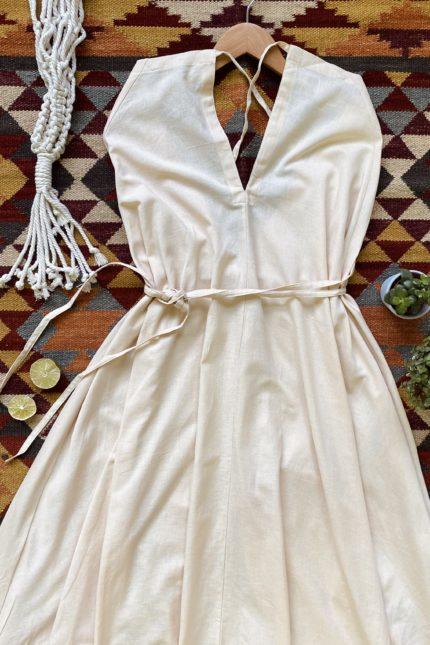 Suite13 maxi šaty daphne sand se lnem