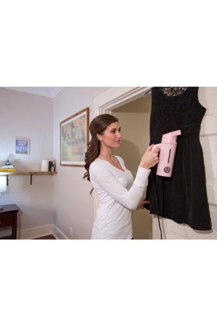 napařovač oděvů esteem pink