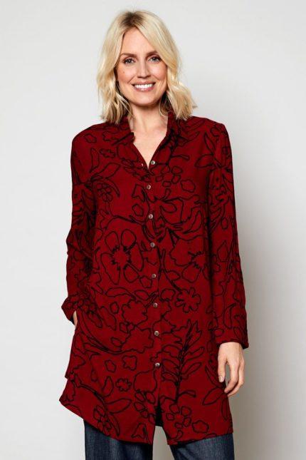 Nomads tuniková košile artisan fiq