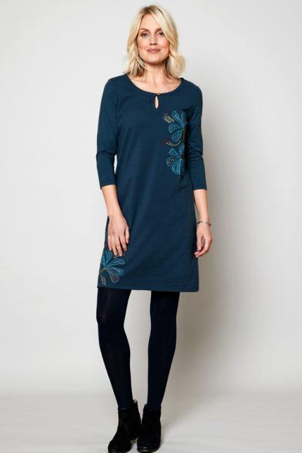 Nomads tunikové šaty artisan z bio bavlny