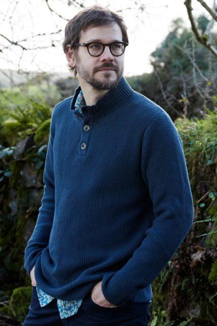 Nomads pánský svetr button z bio bavlny