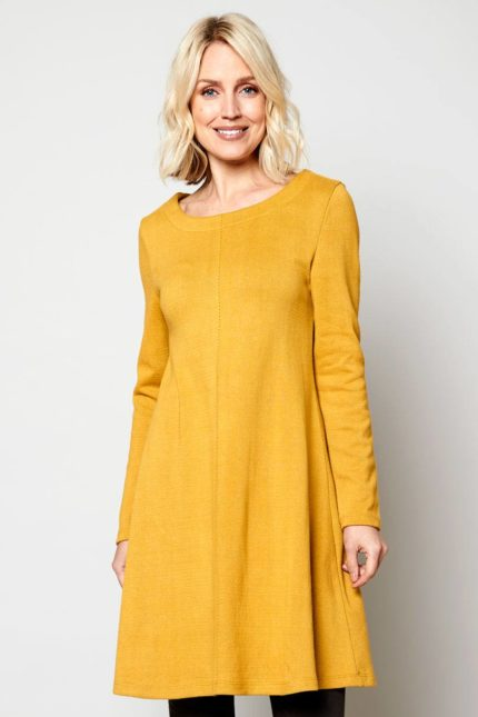 Nomads tunikové šaty harvest z bio bavlny