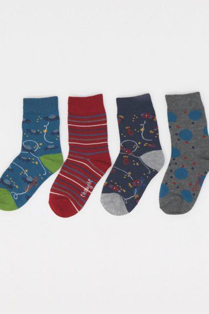 Thought dárkové balení dětských ponožek franky rocket kids