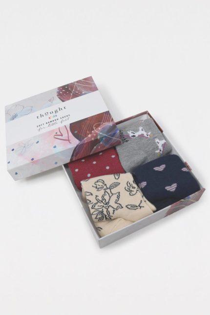 Thought dárkové balení dětských ponožek lettie unicorn kids