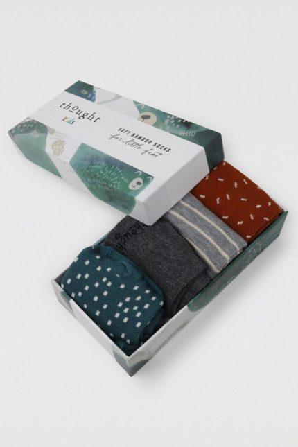 Thought dárkové balení dětských ponožek orpha animal baby