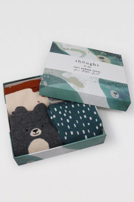 Thought dárkové balení dětských ponožek orpha animal kids