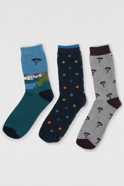 Thought trojbalení pánských ponožek ackley mountain