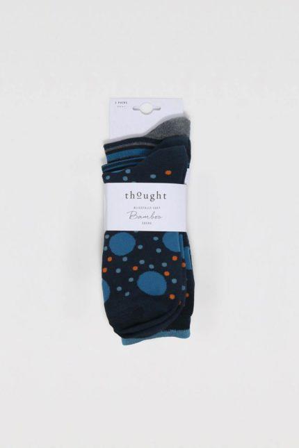 Thought trojbalení pánských ponožek ebbon