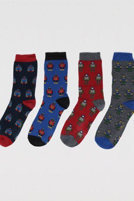 Thought dárkové balení pánských ponožek herman robot