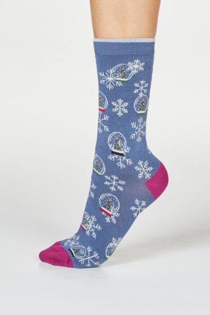 Thought dárkové balení dámských ponožek harlene snowglobe