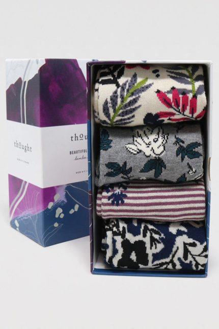 Thought dárkové balení dámských ponožek rasmine