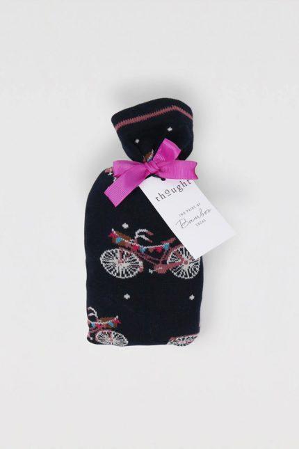 Thought dárkové dvojbalení dámských ponožek velma bicycle