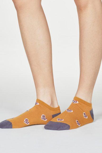 Thought dámské bambusové ponožky lily žluté