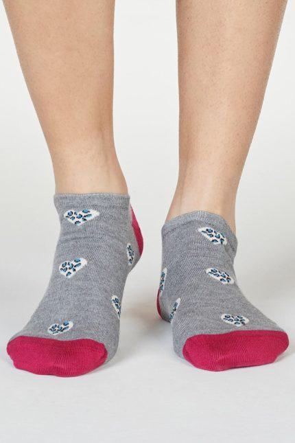 Thought dámské bambusové ponožky lily šedé