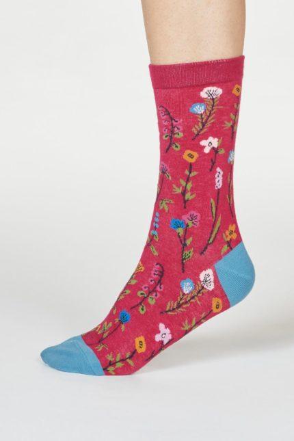 Thought dámské ponožky mondie růžové