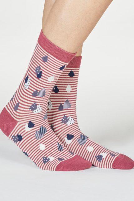 Thought dámské bambusové ponožky juliette růžové