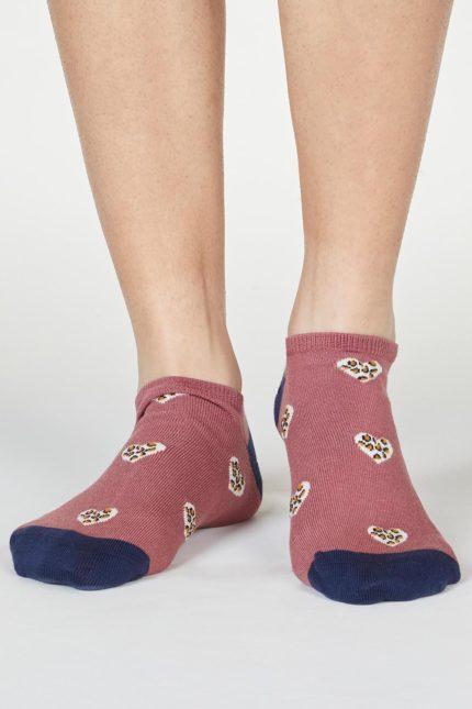 Thought dámské bambusové ponožky lily růžové