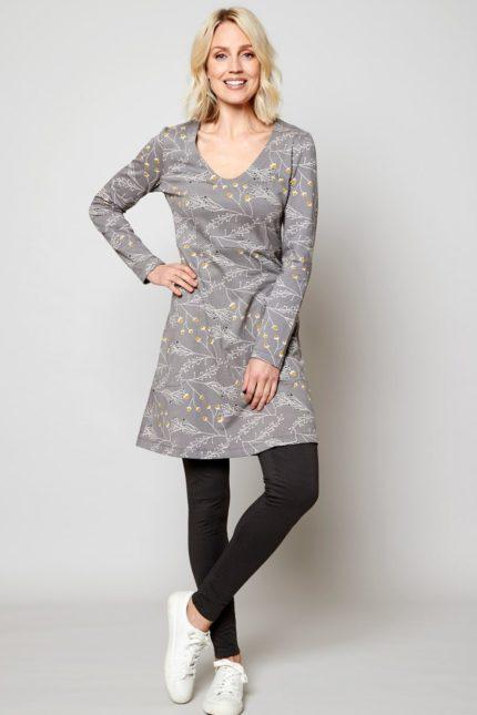 Nomads tunikové šaty lounge z bio bavlny