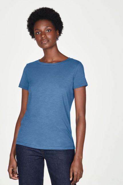 Thought basic tričko z bio bavlny atlantic blue