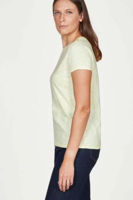 Thought basic tričko z bio bavlny yellow