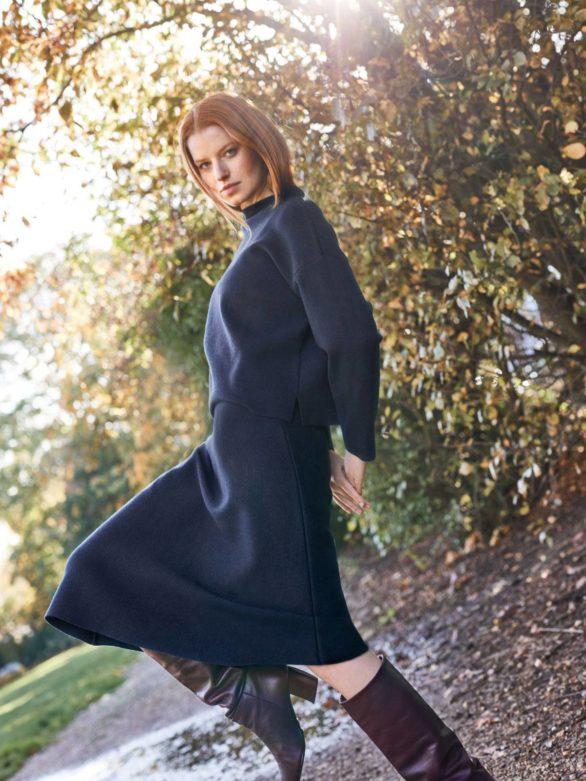 Thought sukně joanne s vlnou
