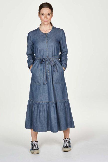 Thought košilové šaty abigale z bio bavlny