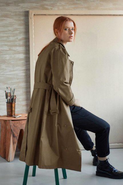 Thought kabát felicity z bio bavlny
