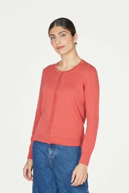 Thought kardigan pollie red