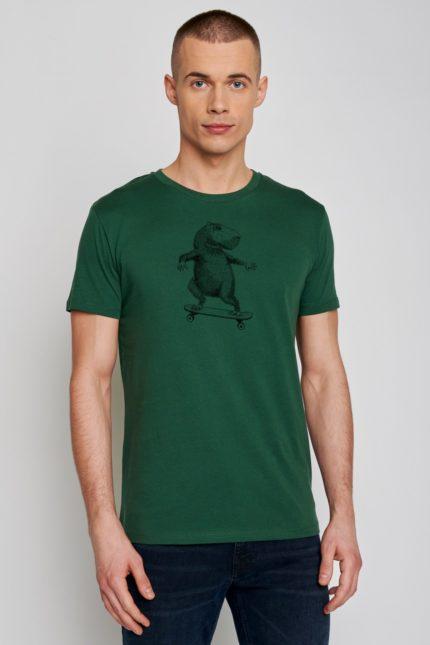 Greenbomb tričko animal capy zelené