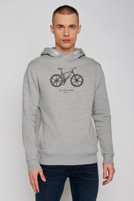 Greenbomb mikina s kapucí bike root