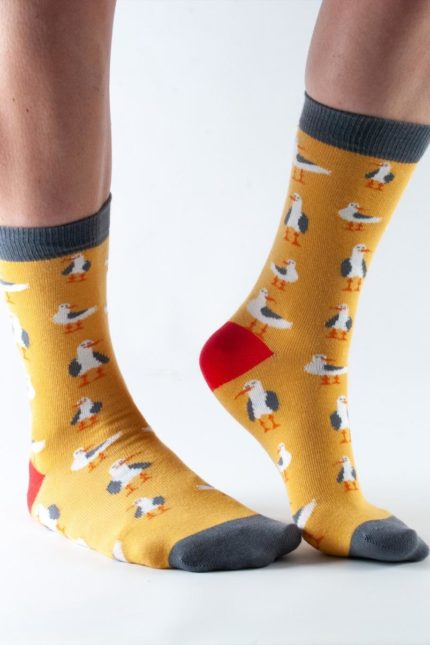 Doris and Dude dámské ponožky gold seagull